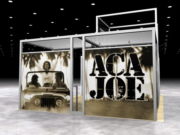 RE-1002 Rental Exhibit / 10� x 10� Inline Trade Show Display � Image 3