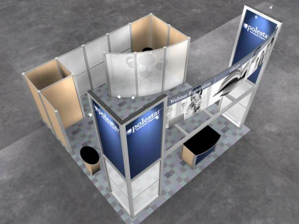RE-9026 Rental Exhibit / 20� x 20� Island Trade Show Display � Image 8