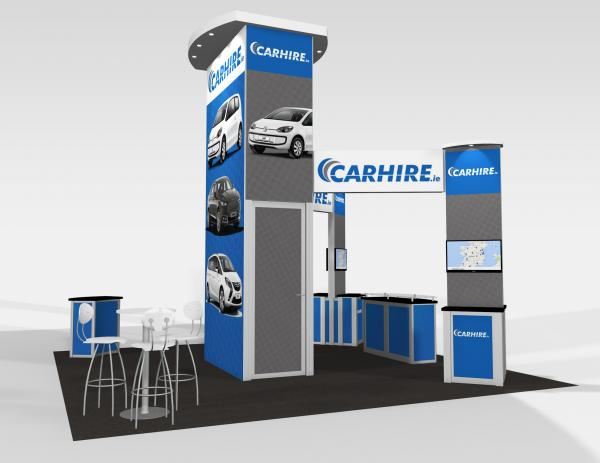 RE-9076 CarHire Trade Show Rental Exhibit -- Image 5