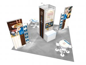 RE-9115 Trade Show Island Rental-- Image 3