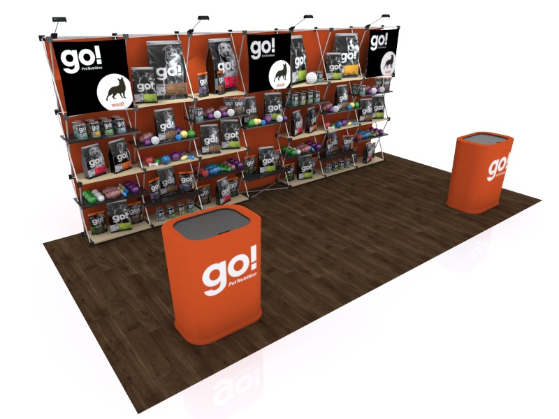 FG-205 Trade Show Pop Up Display -- Version 2b