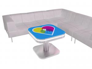 MOD3D-1441 Charging Coffee Table