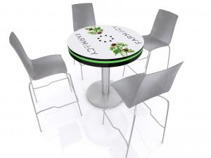 MOD3D-1432 Charging Bistro Table