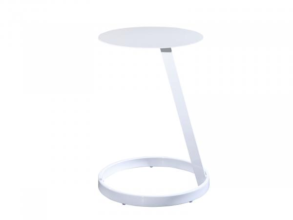 Aura Round Table -- Trade Show Furniture Rental