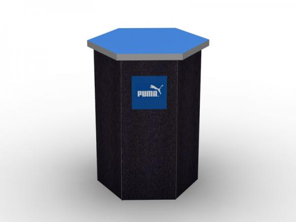 DI-650 Trade Show Pedestal -- Fabric Folding Panel Design -- Image 2