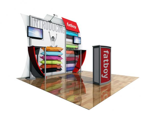 ECO-1045 Sustainable Tradeshow Display -- Image 1