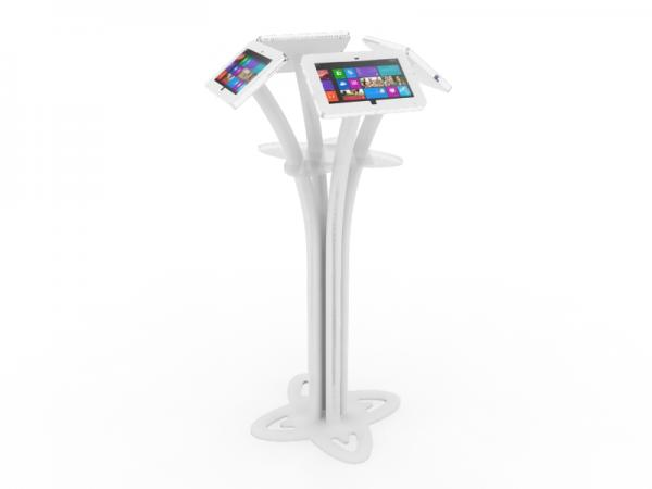 MOD-1338M Portable Surface 2 Kiosk -- White