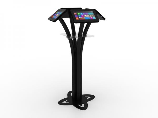 MOD-1338M Portable Surface 2 Kiosk -- Black