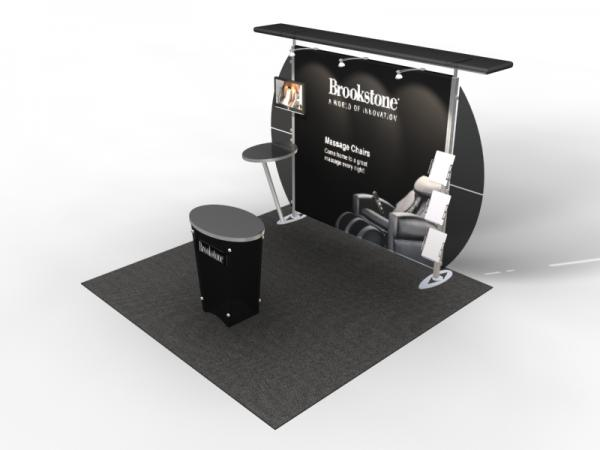 VK-1309 Trade Show Exhibit with Silicone Edge Graphics (SEG) -- Image 4