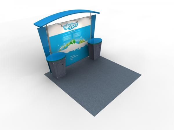 VK-1310 Trade Show Exhibit with Silicone Edge Graphics (SEG) -- Image 2