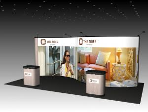 QD-234 Trade Show Pop Up