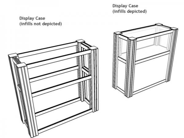 RE-502 Rental Display / Display Case -- Image 4