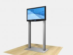 RE-1229 / Large Monitor Kiosk - Image 2