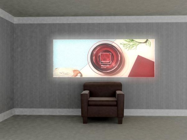 SuperNova Lightbox (96 x 36) for Trade Show, Event, or Retail Display -- Image 1
