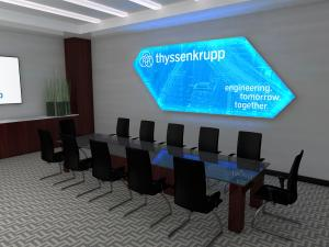SuperNova LED Lightboxes -- Boardroom