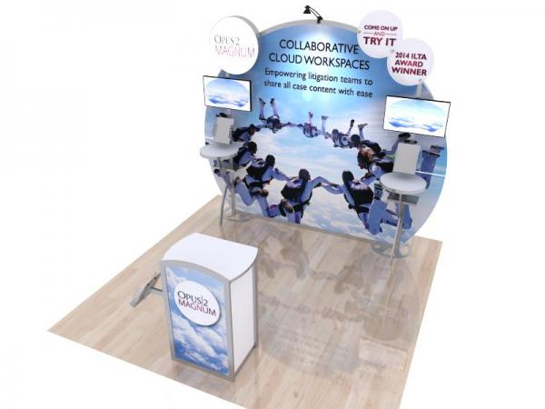 VK-1126 Portable Hybrid Trade Show Exhibit -- Image 3